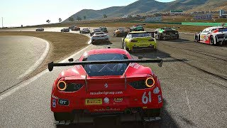 Project CARS 2 - Gameplay Ferrari 488 GT3 @ Willow Springs [4K 60FPS ULTRA]