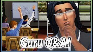 (Guru Q&A) Teachers, NO OPEN WORLD, Casinos & More! | The Sims Info/Thoughts