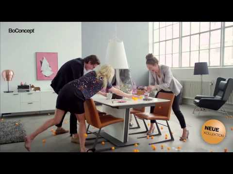boconcept tisch ping pong youtube. Black Bedroom Furniture Sets. Home Design Ideas