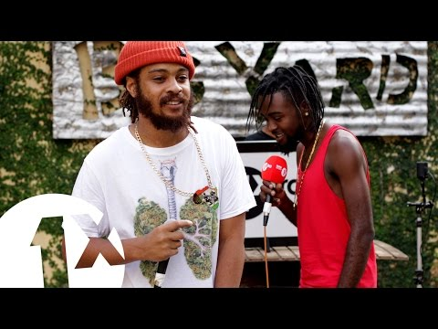 1Xtra in Jamaica - RTKal & Shokryme Freestyle for BBC Radio 1Xtra in Jamaica