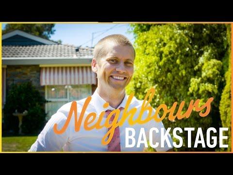 Neighbours Backstage  Tim farewells Erinsborough