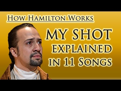 How Hamilton Works: My Shot Explained in 11 Songs