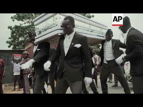 Music, dance and colour transform traditional burials