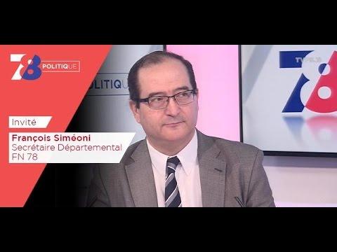 7/8 Politique – Emission du vendredi 24 mars 2017 avec François Siméoni (FN)