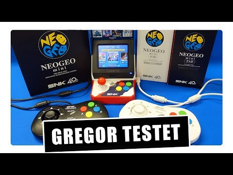 Gregor testet das SNK NEOGEO mini International (Review / Test)