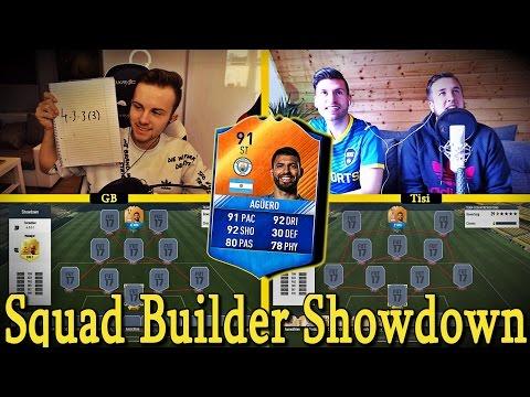 FIFA 17: MOTM AGÜERO SQUAD BUILDER SHOWDOWN 😈🔥
