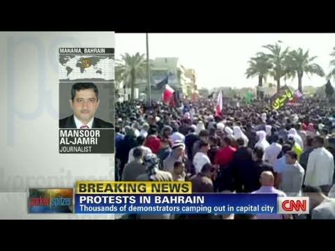 CNN: Protesters in Bahrain seek regime change