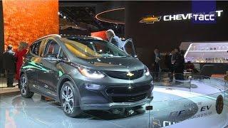 Chevrolet Bolt EV назван  автомобилем года  в Северной Америке