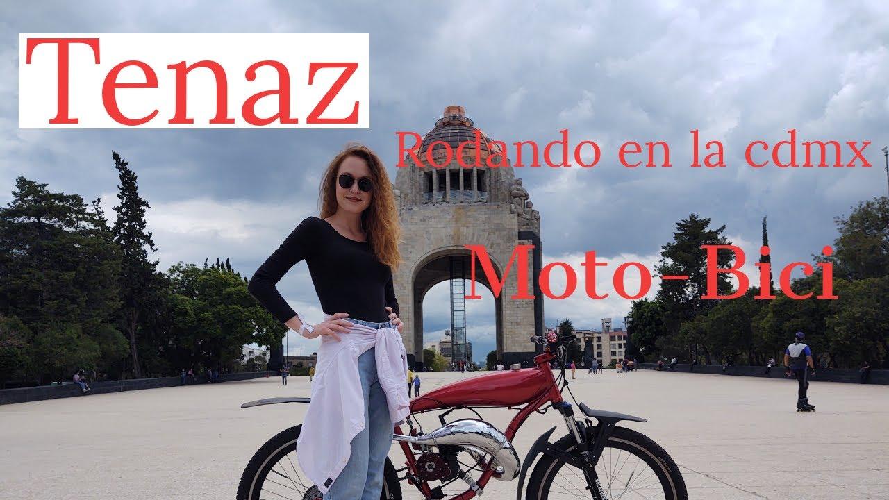 RODANDO CON TENAZ//CIUDAD DE MEXICO//MOTOBICI//BICICLETAS CON MOTOR//BICIMOTOS//DOMINGO