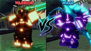 Dungeon Quest Roblox Download - Download Mage Vs Warrior In New Ghastly Harbor Who Is The