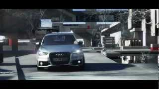 CG CAR AUDI - (3ds max, after effects, reelsmart motion blur, frischluft lenscare, red giant, looks)