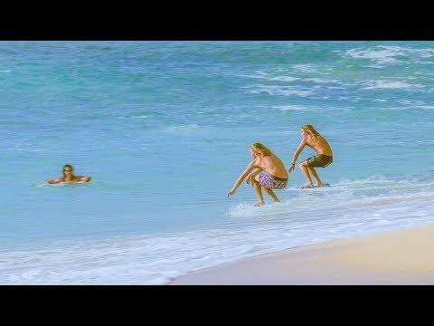 Professional Skimboarders Score Hawaii Shorebreak: SKID KIDS Chapter 7 Mp3