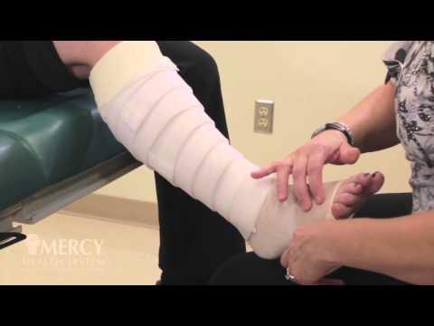 Multi-layer Bandaging For The Leg
