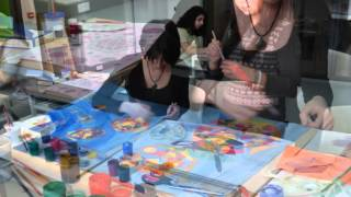Drawing Class of Ayb High School, Yerevan, Armenia