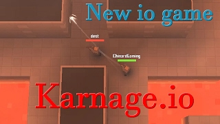 New io game || A io shooter game || Funny || Karnage.io