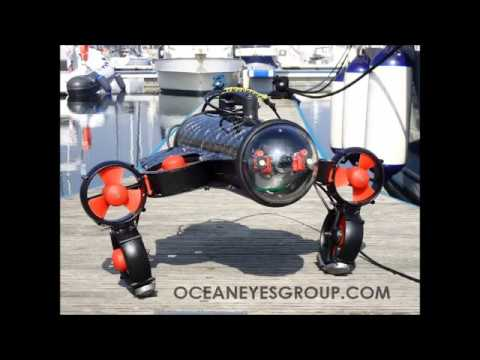Yacht hull inspection with Element ROV