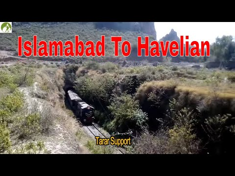 Traveling By Train Islamabad To Havelian Abbottabad Pakistan Railway Journey Documentary 2018