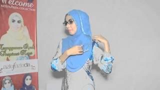 tutorial shawls untuk si kaca mata