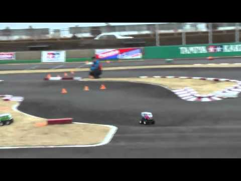 TAMIYA RC VOLKSWAGEN TYPE 2 WHEELIE RACE
