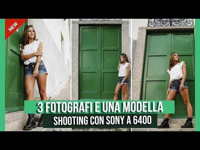 3 FOTOGRAFI SCATTANO ALLA STESSA MODELLA // SONY A 6500