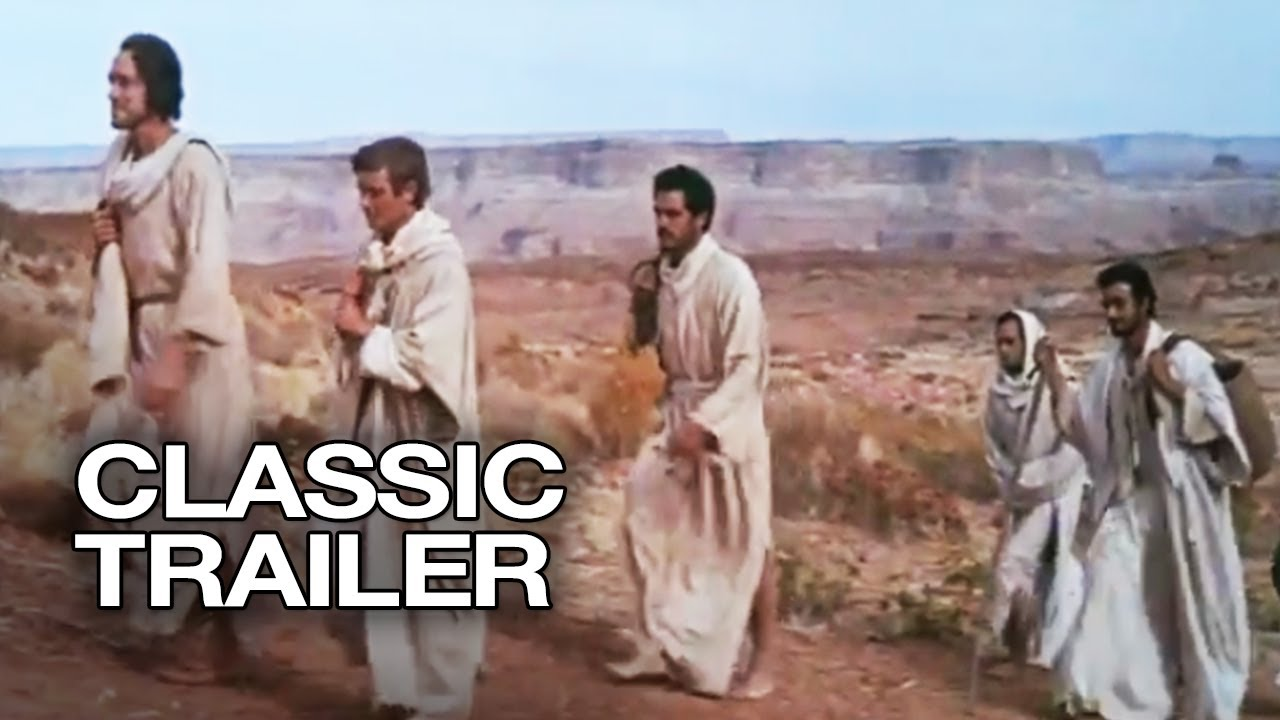 The Greatest Story Ever Told Official Trailer #1 - Max von Sydow Movie (1965) HD