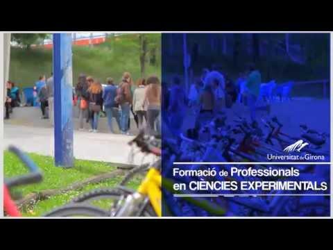 Universitat de Girona - Vídeo promocional dels estudis de la Facultat de Ciències
