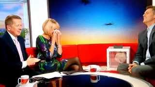 Louise Minchin BBC Breakfast - Escaping Mosquitoes