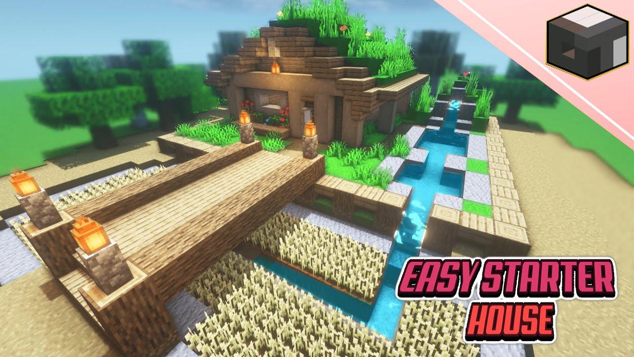 Easy Minecraft Survival Starter House
