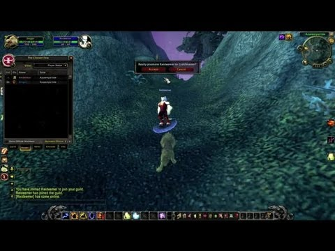 How To Pass The Guild Leader In ''WoW'' : World Of Warcraft Tutorials