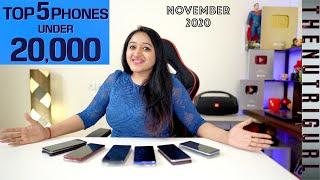 Top 5 Phones Under 20000 In NOVEMBER 2020