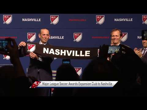 Nashville joins Major League Soccer!