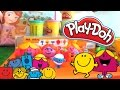 Playdoh Fun with Mr. Men and Little Miss
