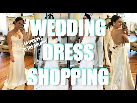 WEDDING DRESS SHOPPING - I SAID YES TO THE DRESS!! / Covering the Bases