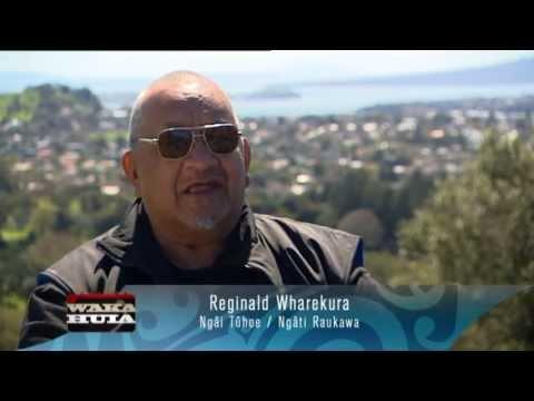 Captioned - Reg Wharekura Waka Huia profile