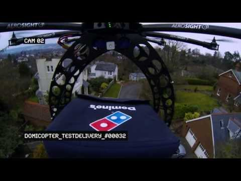 What the Hell Are These Pizza Drones?