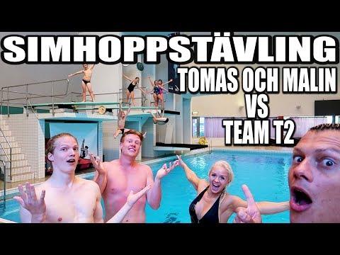 SIMHOPPSTÄVLING TOMAS OCH MALIN VS TEAM T2