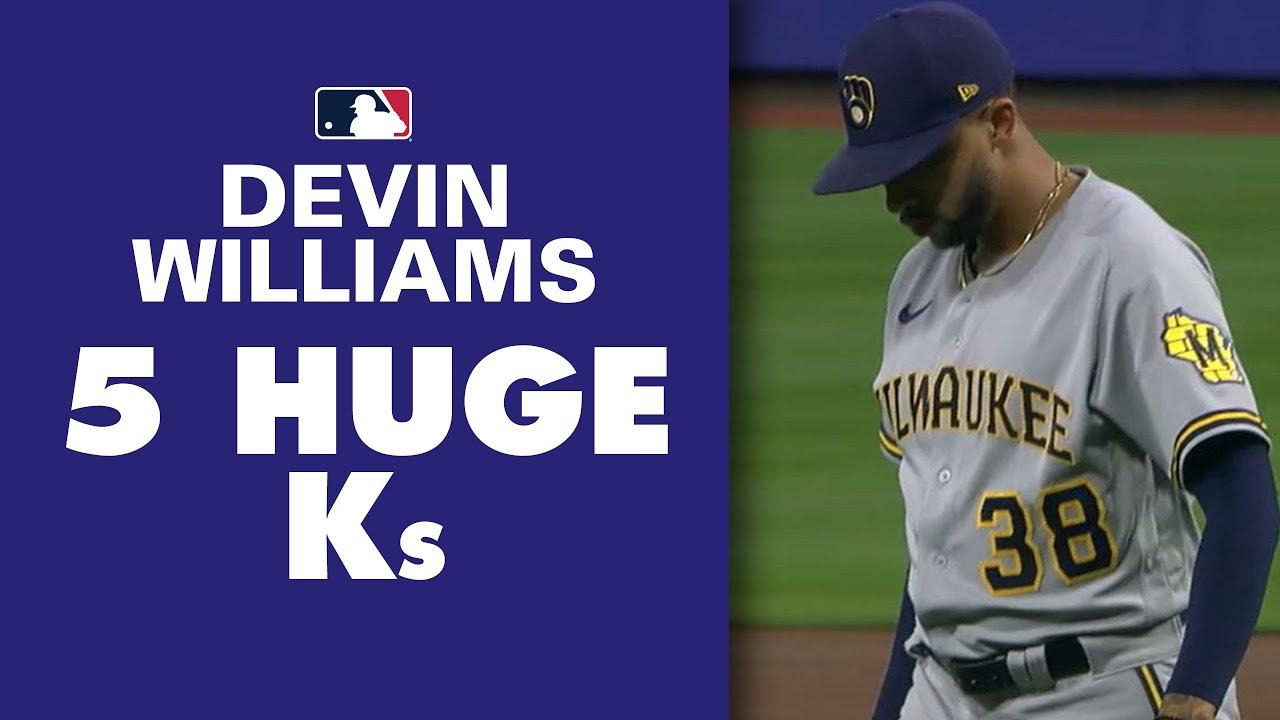 Devin Williams likely to miss Milwaukee Brewers' postseason run ...