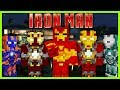 Minecraft - SUPERHERO UNLIMITED MOD (WEAR EVERY IRON MAN SUIT EVER)