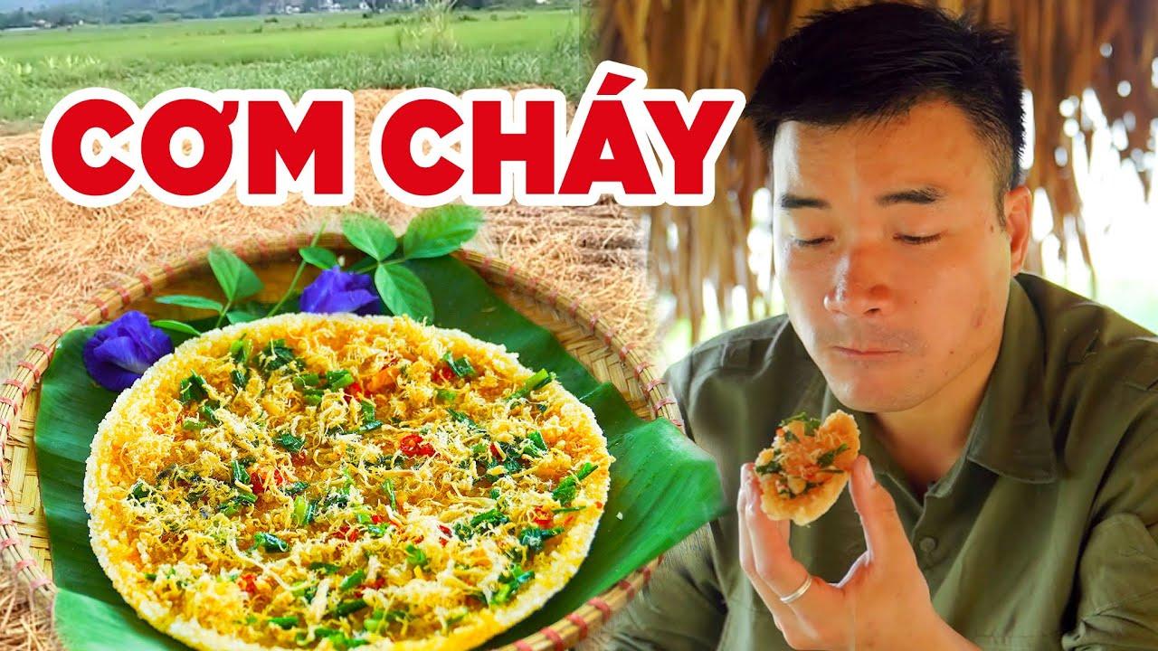 Download Anh Nông Dân Làm Món Cơm Cháy Chà Bông Vàng Giòn, Thơm Ngon | Scorched Rice