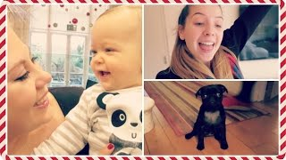 Louise's New Baby & Puppy Classes | Vlogmas