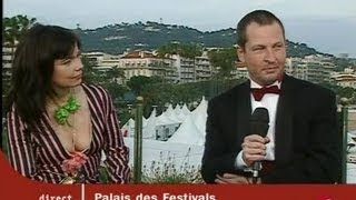 Pages Cannes : Duplex Pascale Deschamps, Lars Von Trier et Bjork