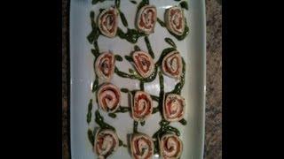 Smoked Salmon & Cream Cheese Rolls