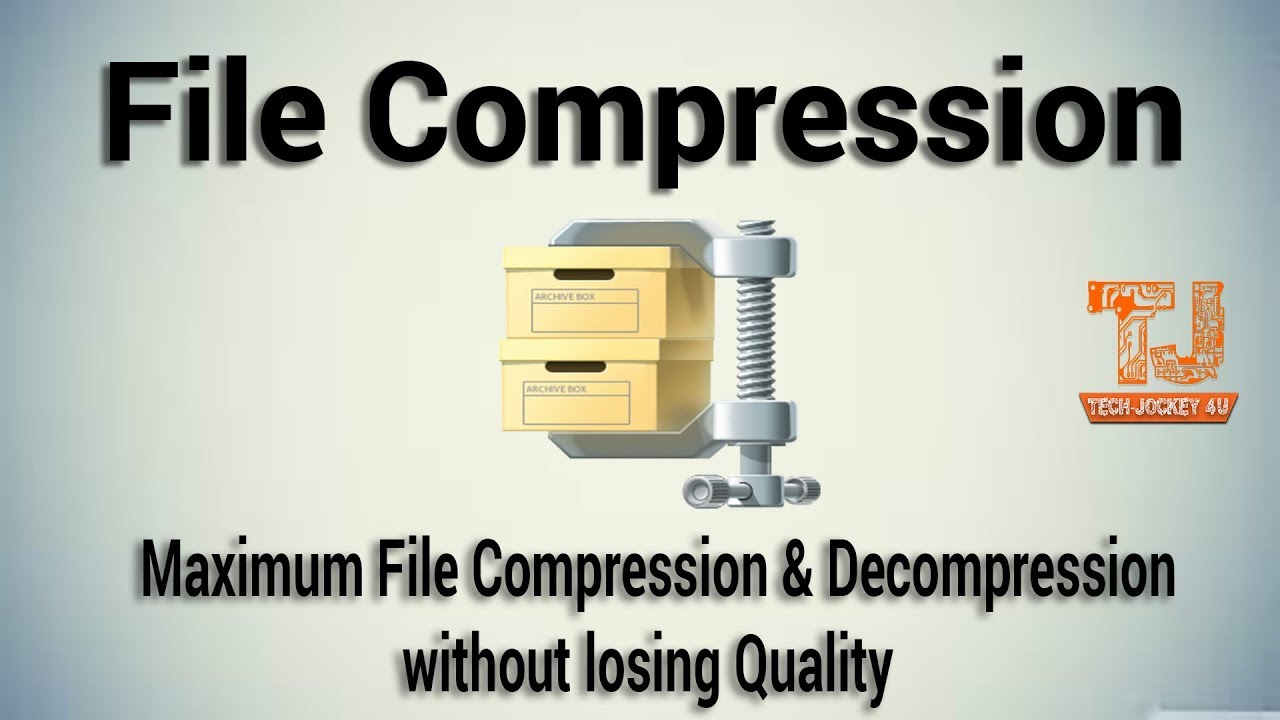 How to compress 1GB file into 10MB simple steps in Hindi 100% working