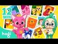 Animal Families and More | Pinkfong & Hogi Dance Dance | Nursery Rhymes | Hogi Kids Songs