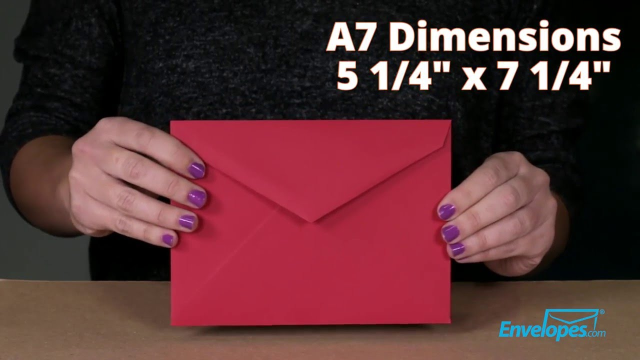 A7 Lee Bar Envelopes - Envelopes.com - YouTube