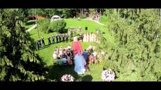 Самая лучшая и красивая свадьба Стас и Карина 25.07.2015