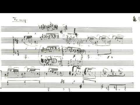 Peter Serkin: Debussy 4 Etudes; Live in Chicago, '09