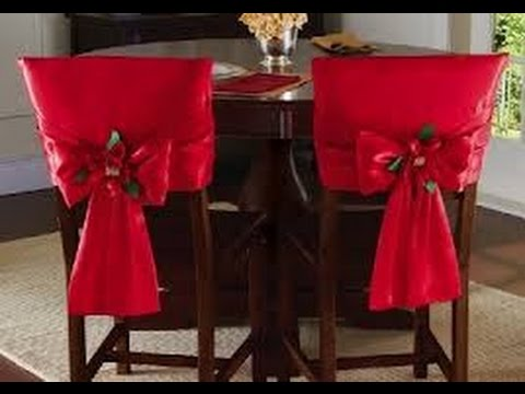 35 ideas para decorar tus sillas en navidad youtube - Sillas de decoracion ...