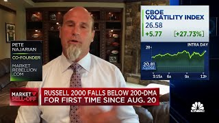 Najarian: If it's a pullback, this is just the beginning