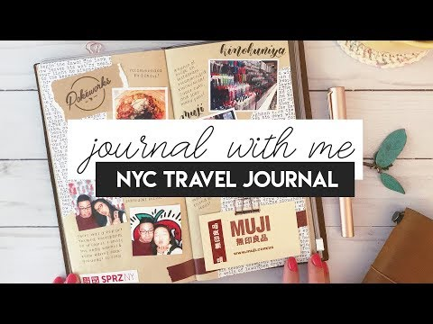 JOURNAL WITH ME: NYC Travel Journal